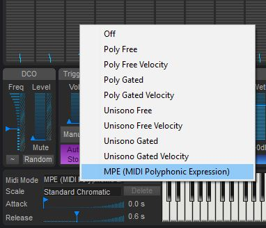 crusher-X supports MIDI Polyphonic Expression